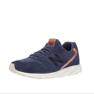 NWOB New Balance WRT96 Navy Suede Sneakers